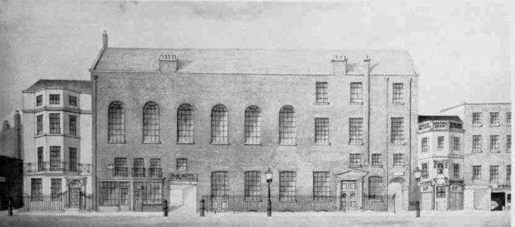 Almacks-budynek-sezon towarzyski-Londyn