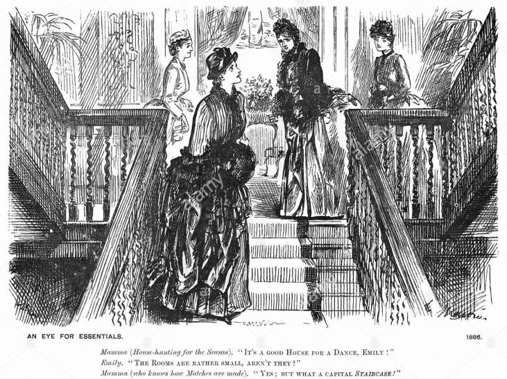 dama-szukająca-apartamentu-na-czas-sezonu-towarzyskiego-Londyn-1886