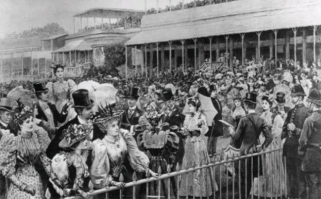 Wyścigi-konne-Royal-Ascot-sezon-towarzyski-Londyn-1895
