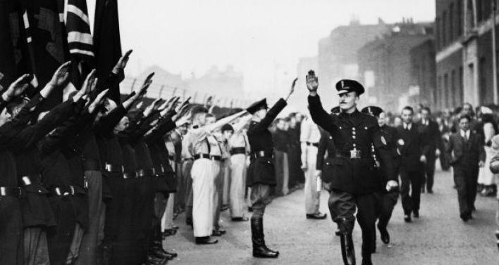 Oswald-Mosley-Brytyjska-Unia-Faszystów-Whitechapel-London