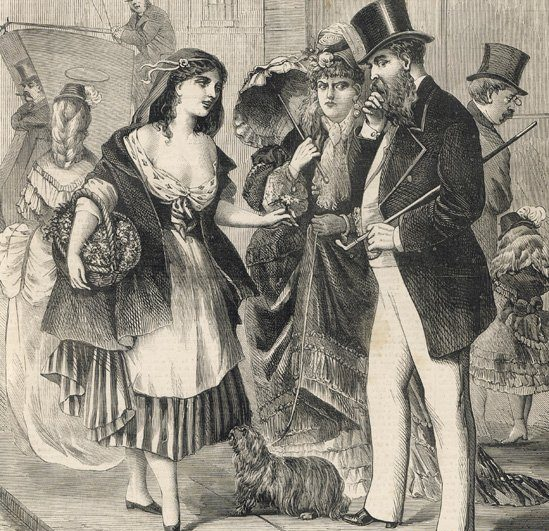 Pruderia i rozpusta wiktoriańskiego Londynu. Historia prostytucji w dzielnicy Whitechapel.