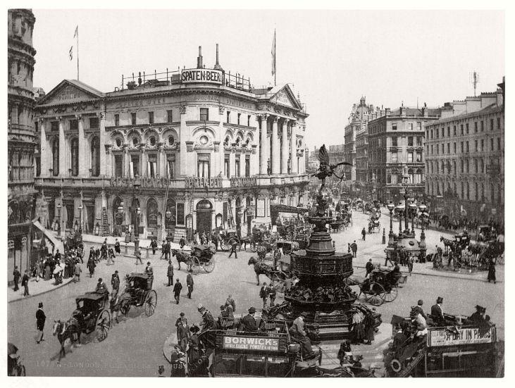 Piccadilly-Circus-19-wiek-Londyn
