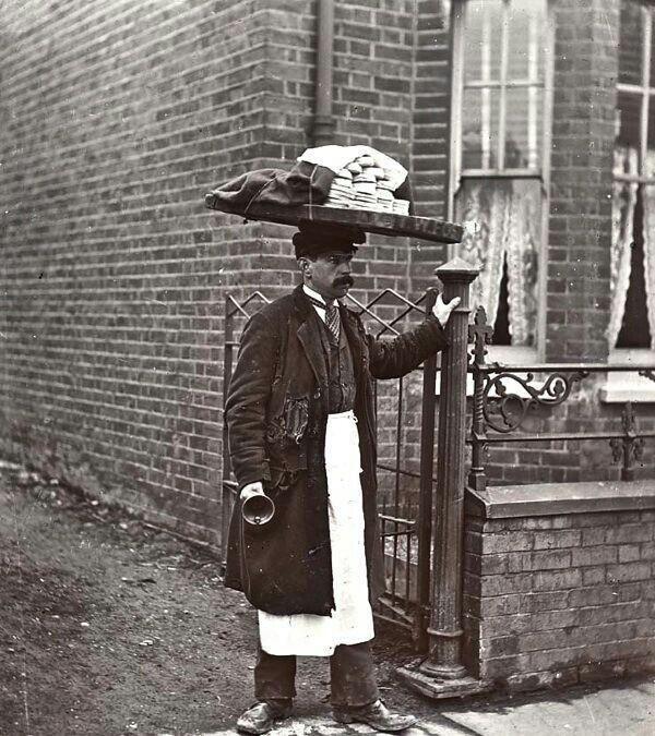 dieta-biedoty-miejskiej-sprzedawca-mufinów-i-placków-wiktoriański-Londyn