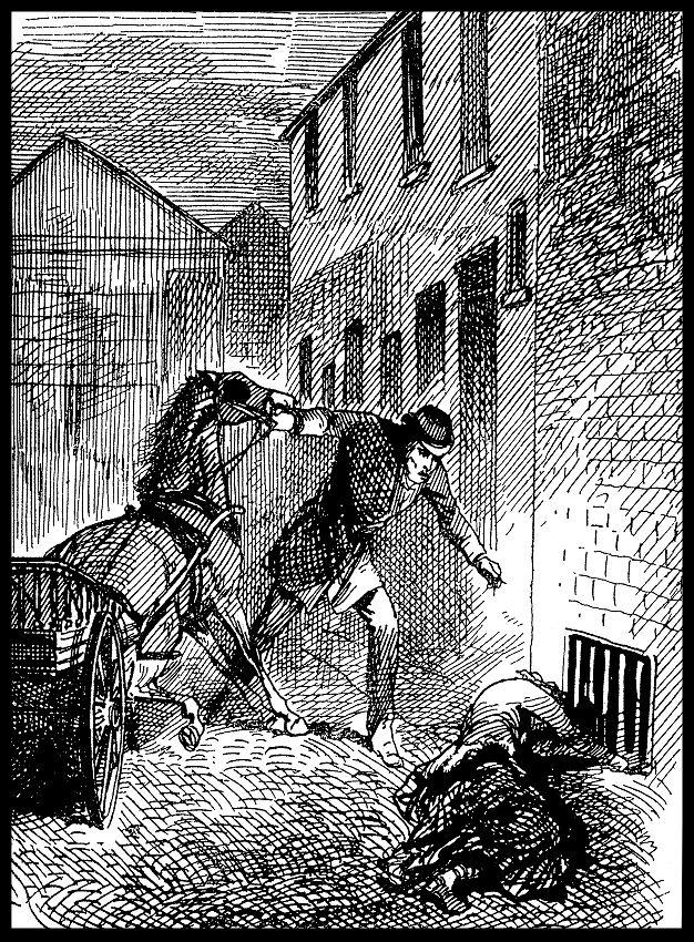 Gazeta-odnalezienie-zwłok-Elizabeth-Stride-Kuba-Rozpruwacz-Whitechapel-Londyn