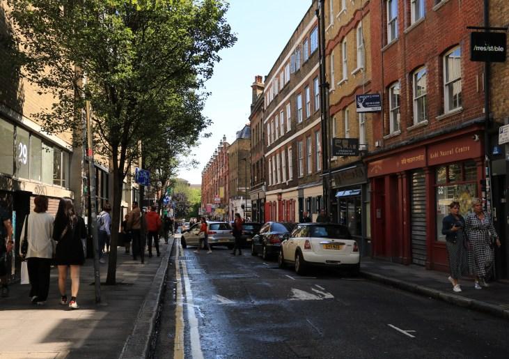 Hanbury Street-Whitechapel-Londyn