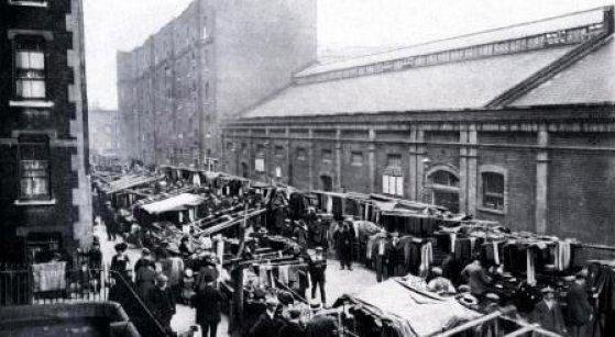 Goulston-Street-1888-Kuba-Rozpruwacz-Whitechapel-Londyn
