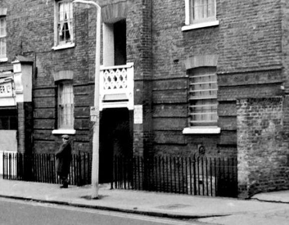 Brama-Goulston-Street-fartuch-Catherine-Eddowes-Kuba-Rozpruwacz-Whitechapel-Londyn