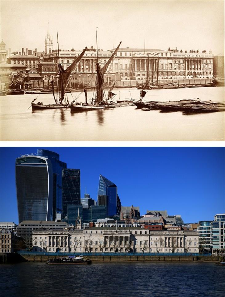 Custom-House-Londyn-kiedyś-i-dziś