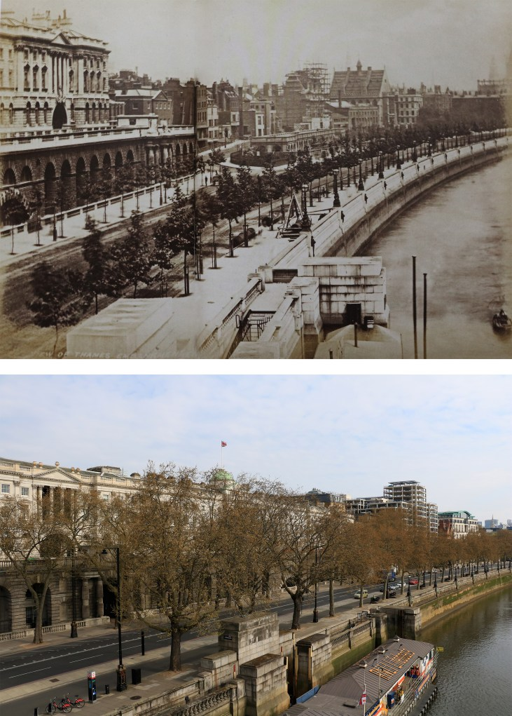 Embankment-Somerset-House-Londyn-kiedyś-i-dziś