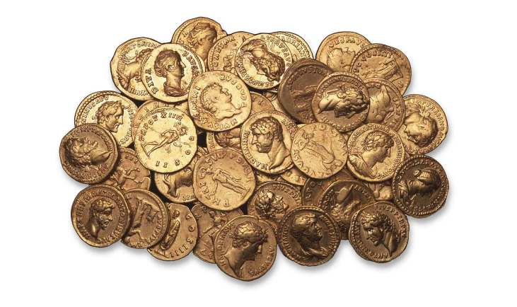 Londinium-Roman-gold-coins-Museum-of-London