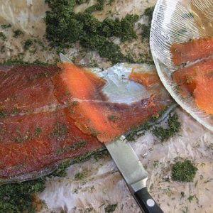 春のこの時期にも鮭やマスが獲れるんですよ!