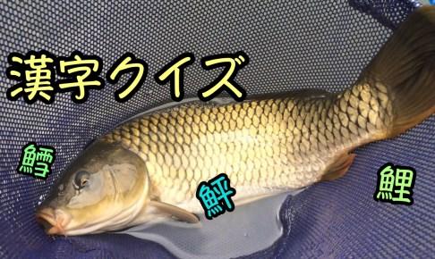 魚漢字クイズその②