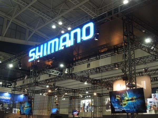 ジャパンフィッシングショー2018:シマノブース