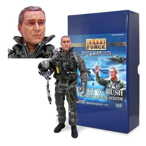 Bush Military Doll
