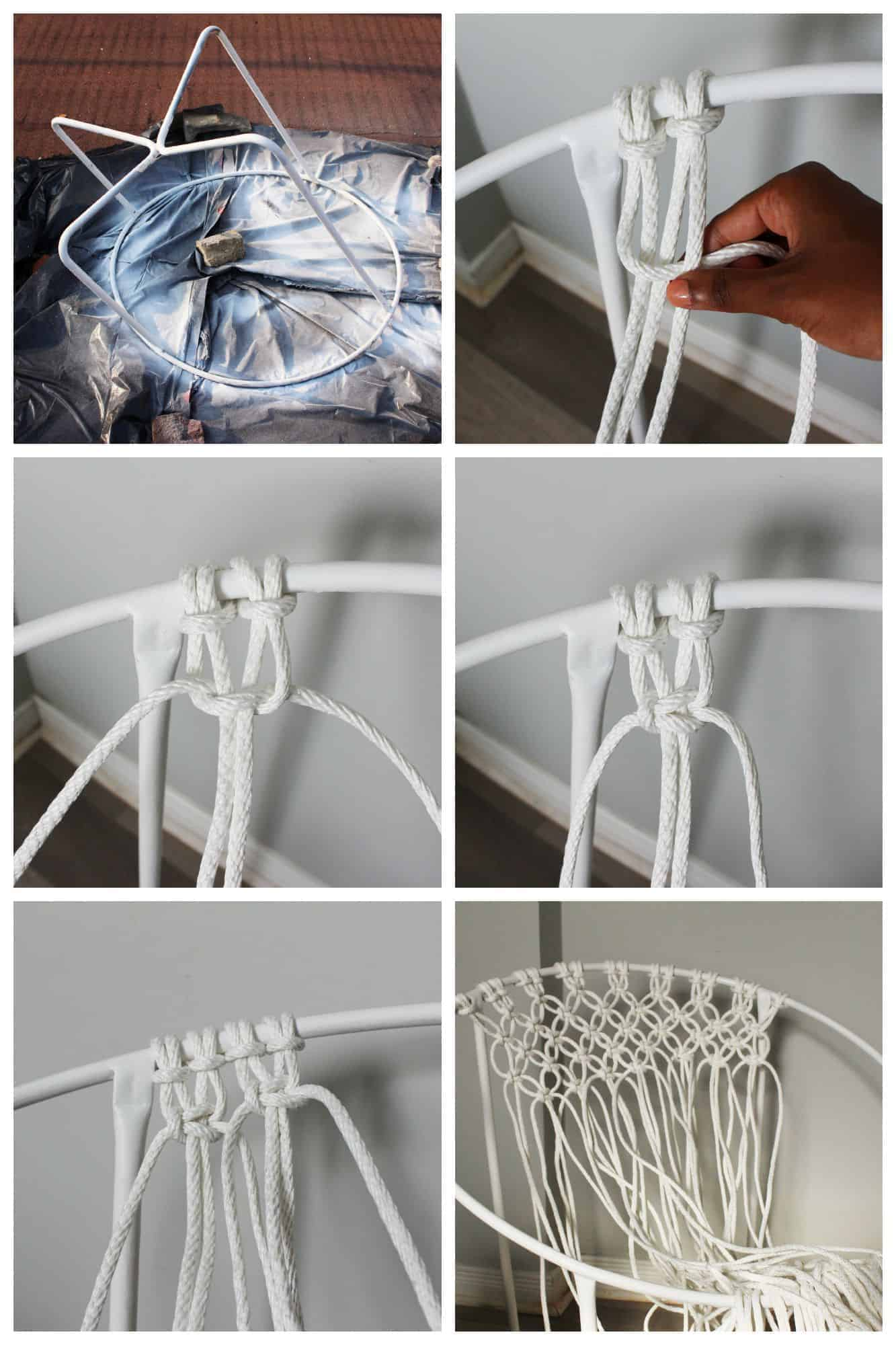Hanging Chair Frame Diy Macrame Hammock Chair Fish And Bull
