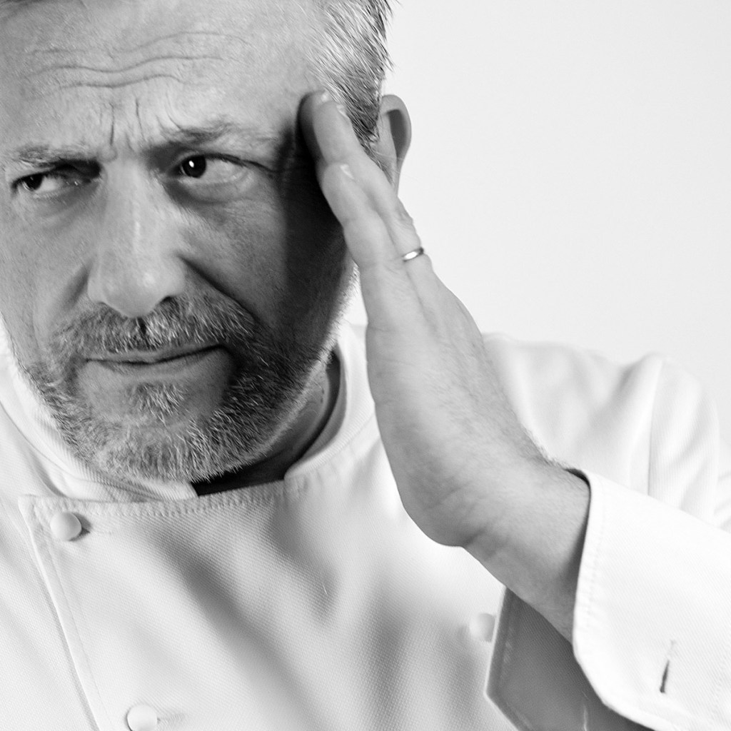 Davide Scabin - Fish & chef- 2012 - Hotel Bellevue San Lorenzo - Malcesine