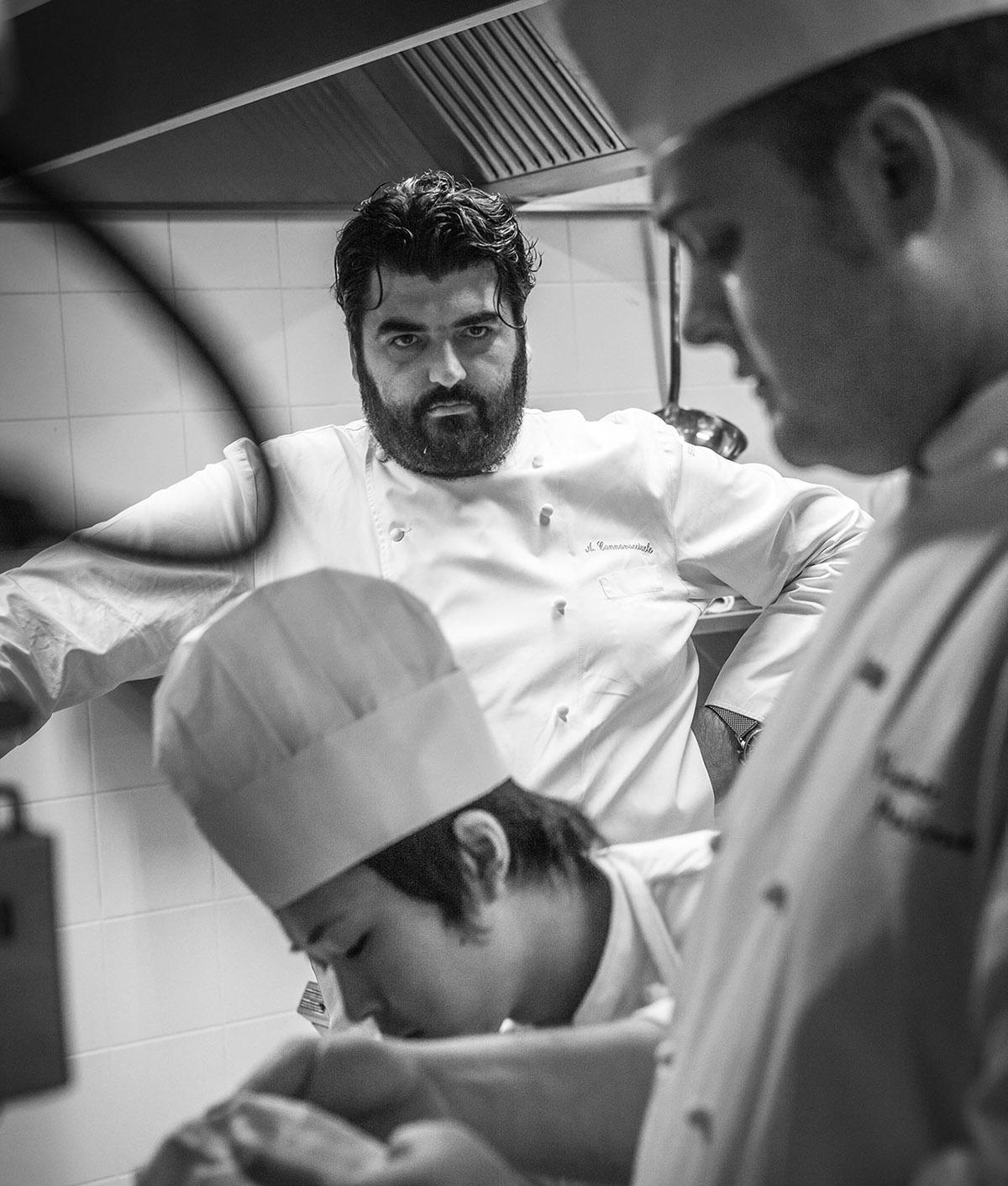 Antonio Cannavacciuolo Fish & chef- 2013 - Villa Cordevigo Wine Relais - Cavaion Veronese