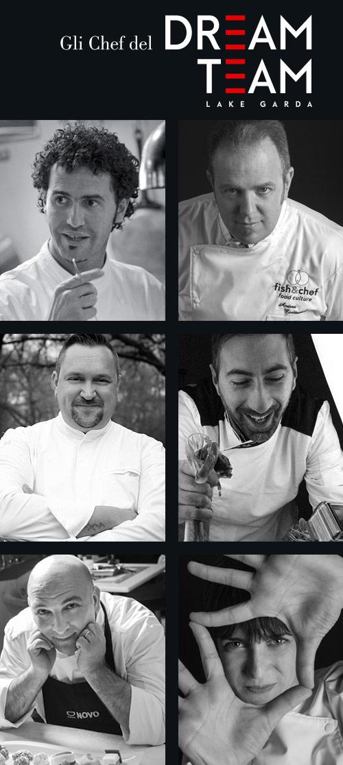 fish&chef edizione 2018 - gourmet sul lago di Garda - Dream Team 2018 - Bellevue san Lorenzo - Malcesine