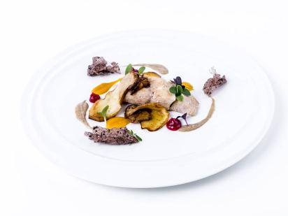 Cobia, zucca e porcini | Chef Giuliana Germinasi