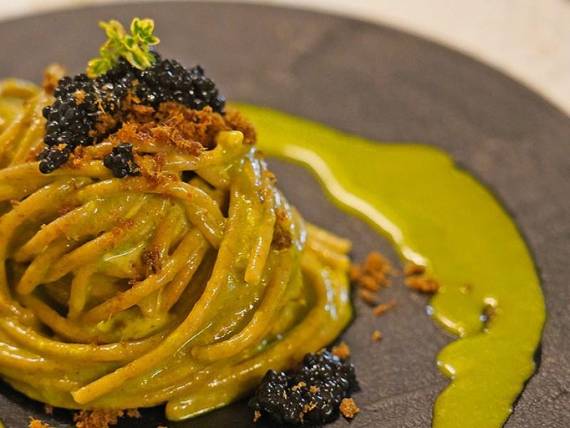 Spaghetto integrale e Caviale  | Chef Matteo Felter