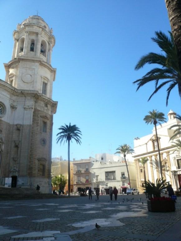place de la cathédrale de Cadix