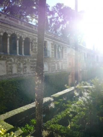 Jardin de l'Alcazar de Séville