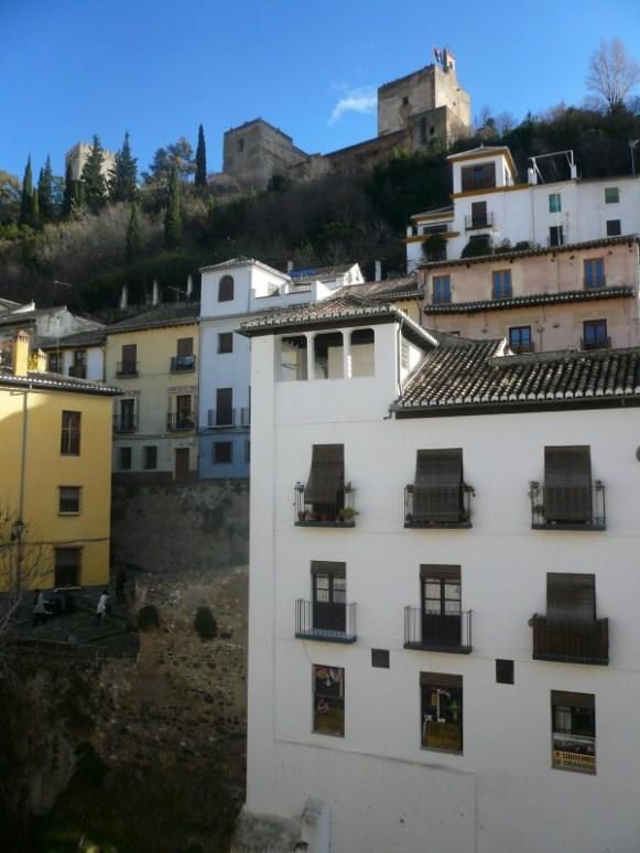 Vue depuis l'Hôtel El Zaguan del Darro - Grenade
