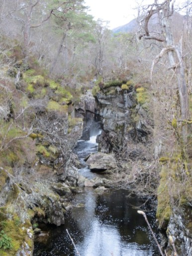 rivière dans le Glen Affric