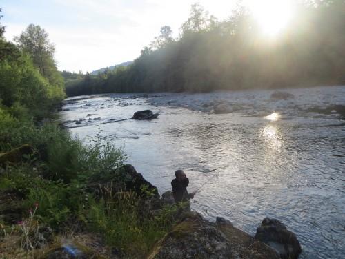 Bogachiel River - état du washington