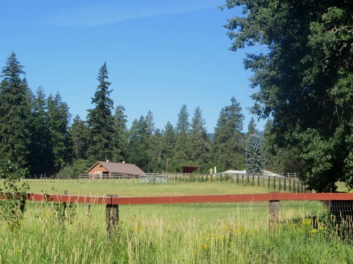 ferme à Trout Lake - état du Washington