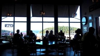 restaurant à Friday Harbor sur San Juan Island - USA