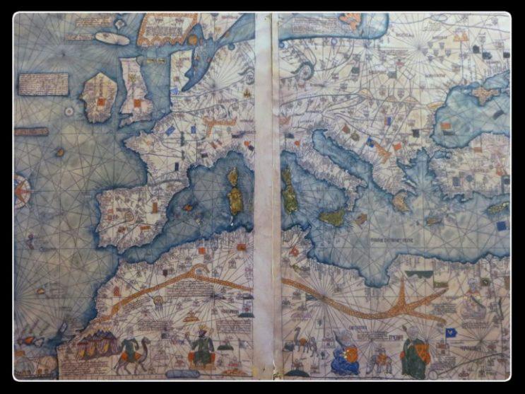 carte de la France au Moyen-Age