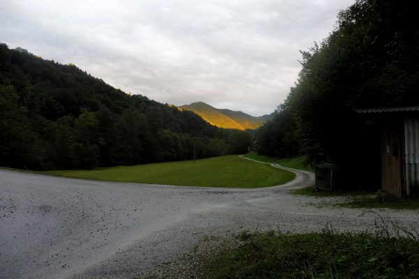 Quelque part entre Idrija et Straža après l'orage (Slovénie)