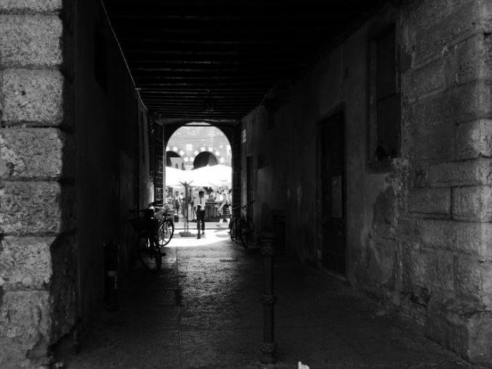passage dans Vérone