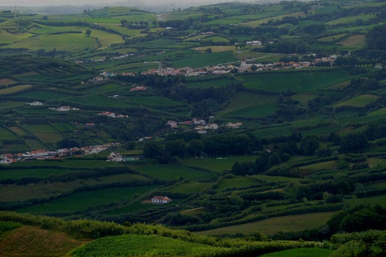 collines de Sao Miguel - Açores