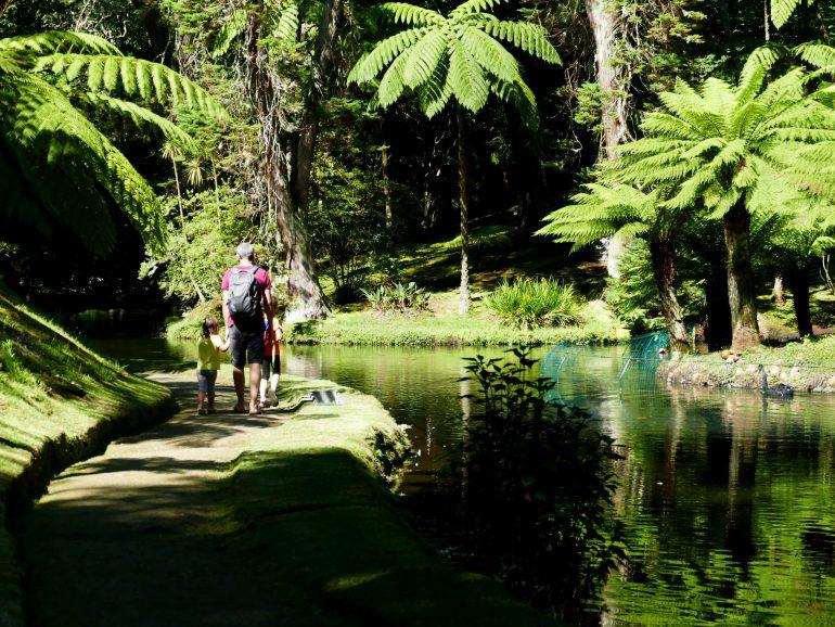 Parc Terra Nostra sur Sao Miguel (Açores)