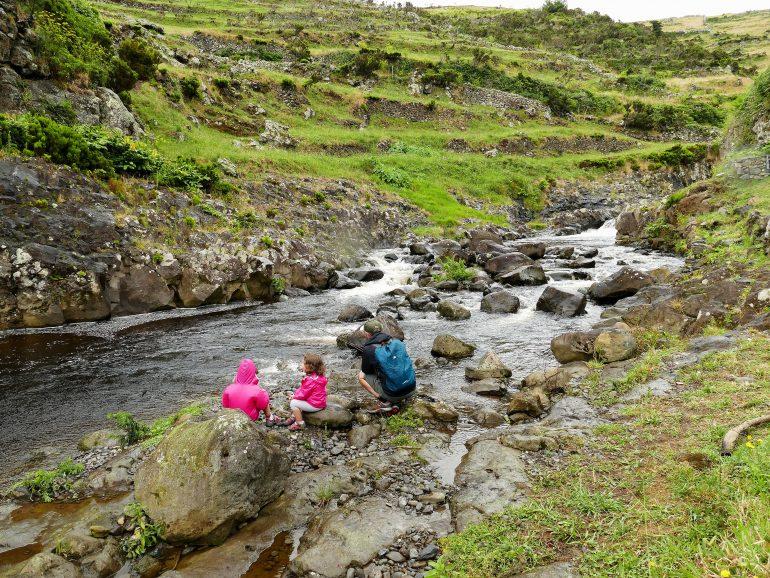 rivière flores -açores