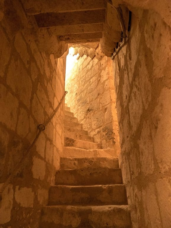 escalier château musée Saint-Jean de Nogent le Rotrou
