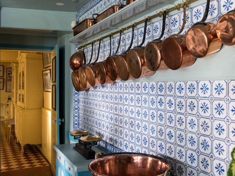 cuisine de la maison de Claude Monet- Giverny