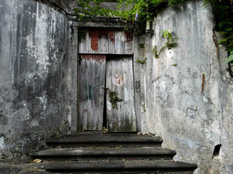 porte de jardin dans Horta