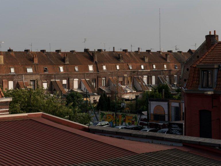 depuis les toits de La condition publique - Roubaix