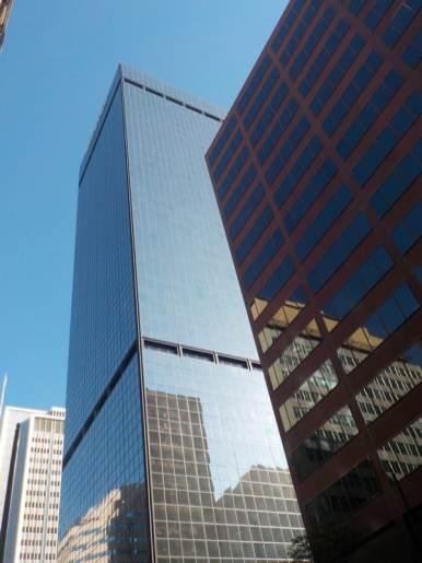 Buildings dans les rues de Denver