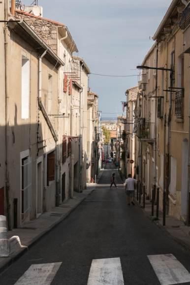 quartier haut à Sète