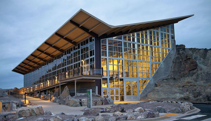 le Quarry Exhibit Hall - Dinosaur National Monument