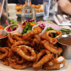 calamari seafood restaurant collingwood