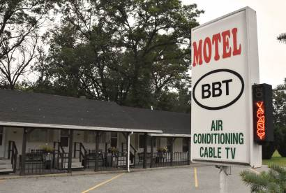 Motel BBT, Baldwin, Michigan
