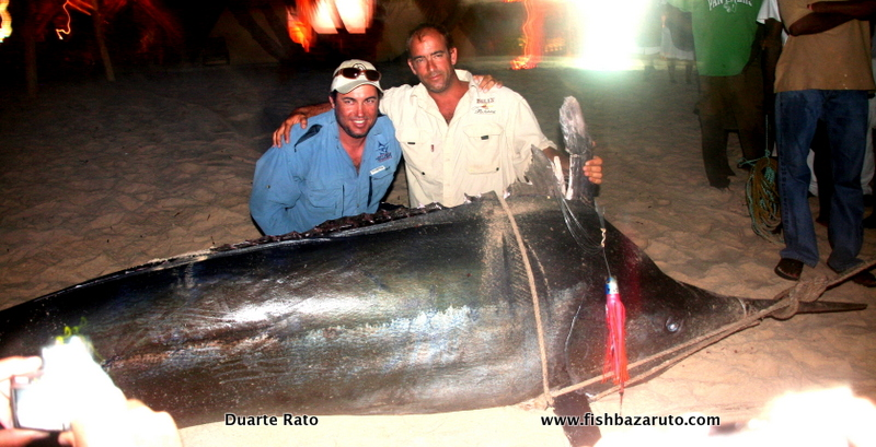 Mozambique's first Grander Blue Marlin? Could be!