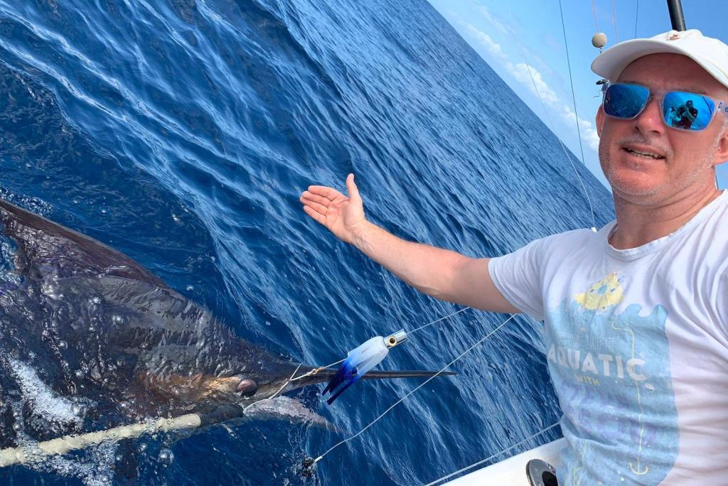 Catching your first marlin with Captain Duarte Rato