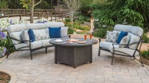 Tropitone Furniture Covers. Engaging Sling Patio