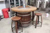 Wine Barrel Table - staruptalent.com